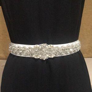 Accessories - Brand New Crystal Sash Belt